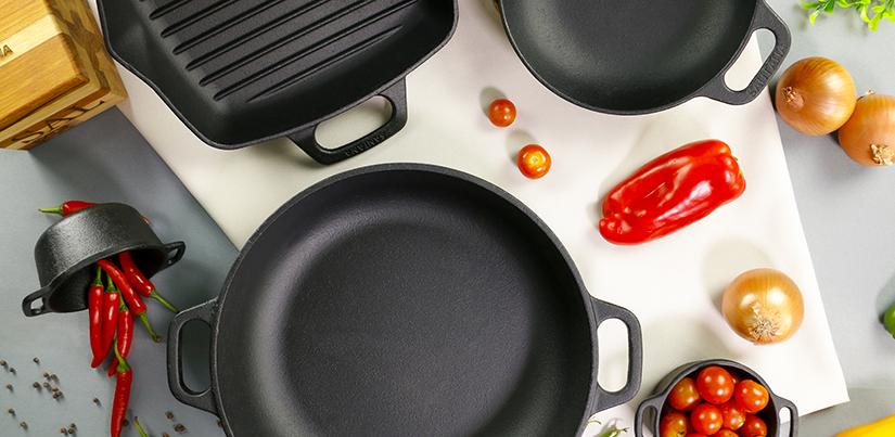 6 vantagens das panelas de ferro fundido