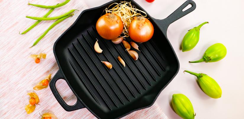 7 benefícios de frigideiras de ferro fundido