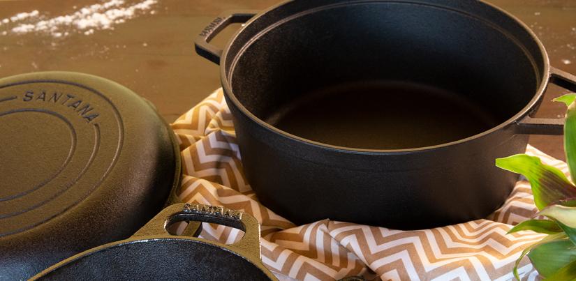 Os melhores utensílios de ferro fundido gourmet
