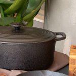 panela de ferro sustentável: revestida com óleo vegetal